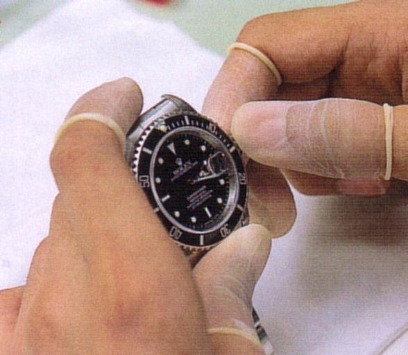 時計修理・最終調整