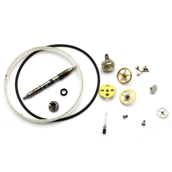 ロレックス(ROLEX) デイトジャスト10Pダイヤ(16233G)オーバーホール 交換部品