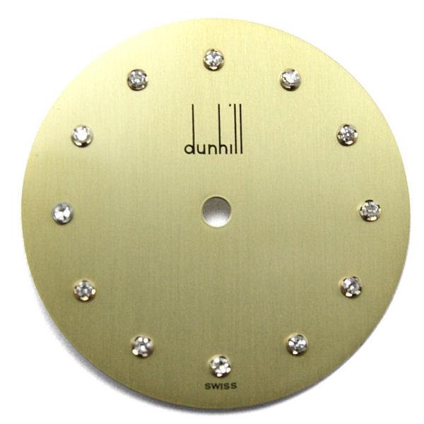 (右)ダンヒル dunhill 文字盤修理後