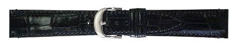 カーフ型押(裏面ラバー) ブラック