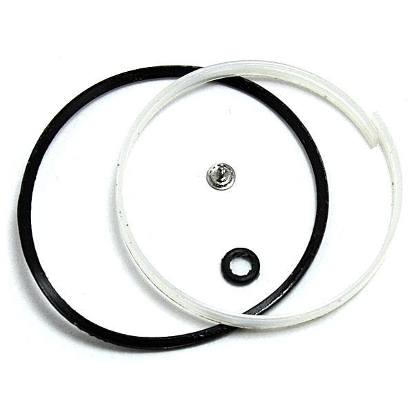 交換部品:ガラスパッキン、パッキン、ローター芯